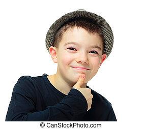 男の子, 帽子