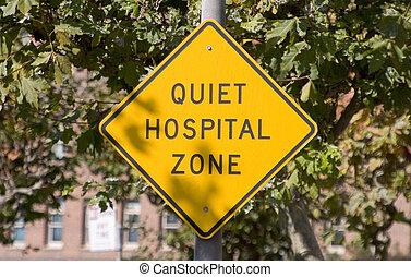 病院, 静寂, 印