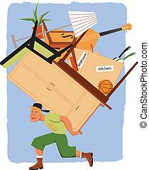 発動機, 山, 家具