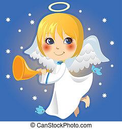 発表, 少し天使