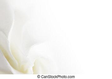 白い花, 柔らかい, 背景