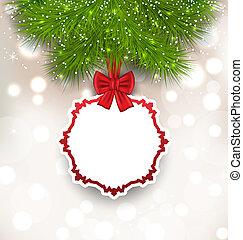 白熱, 背景, クリスマスカード