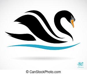 白鳥, イメージ, ベクトル
