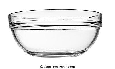 皿, ガラス・ボール, 透明