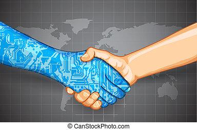 相互作用, 技術, 人間
