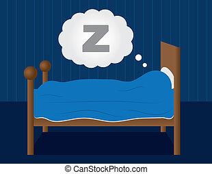 睡眠, ベッド
