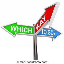 矢, カラフルである, -, 3, 方法, サイン, 行きなさい