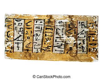 石, エジプト人