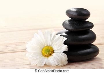 石, 花, 禅, 玄武岩
