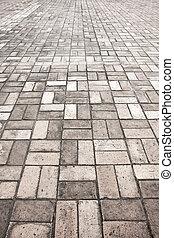 石, 通り, 舗装, 道, 手ざわり