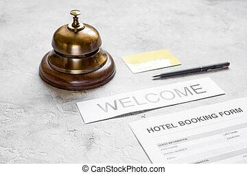 石, 部屋, 形態, ホテル, 適用, 背景, 机, リング, 予約