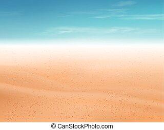 砂ビーチ, 砂漠, 背景, ∥あるいは∥