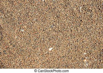 砂, ぬれた