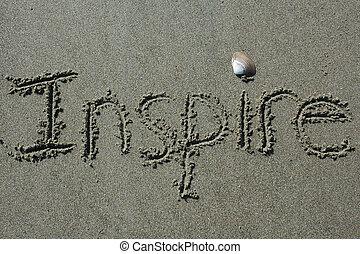 砂, writing-inspire