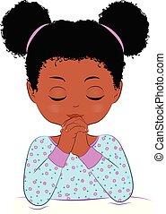 祈ること, アフリカ, 子供
