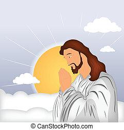 祈ること, キリスト, イエス・キリスト