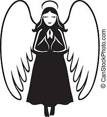 祈ること, 天使