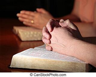祈ること, 女, 人, 聖書