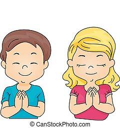 祈ること, 子供