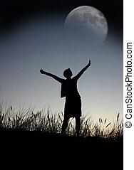 祈ること, 月
