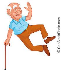 祖父, 跳躍, 健康