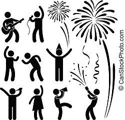 祝祭, パーティー, でき事, 祝福