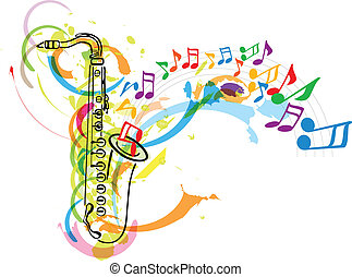 祝祭, 音楽, イラスト