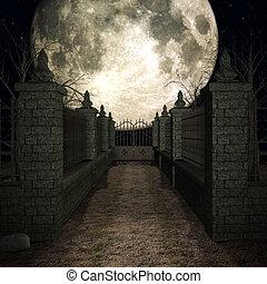 神秘主義者, 墓地