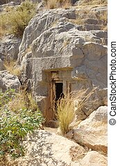 神秘的, 洞穴, 入口