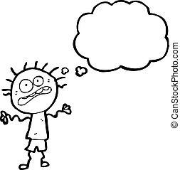 神経質, 漫画, 男の子