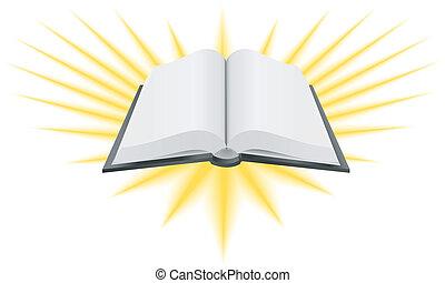 神聖な 本, イラスト