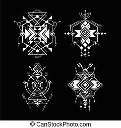 神聖, ナバホー人, 幾何学
