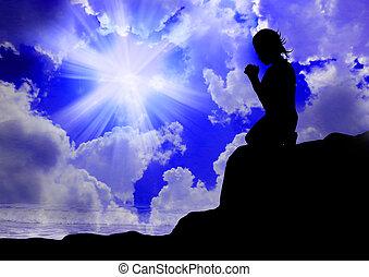 神, 女性の祈ること