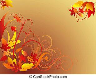 秋の群葉, 背景