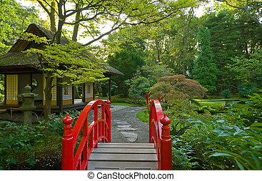 秋, 日本の庭