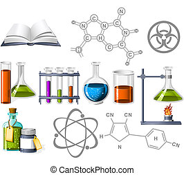 科学, 化学, アイコン