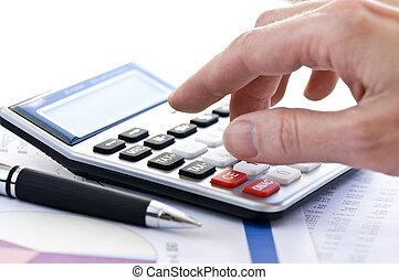 税, ペン, 計算機