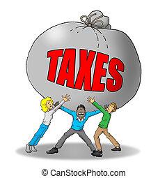 税, 負担