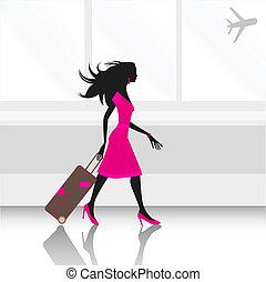 空港, 女