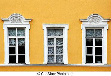 窓, カーテン, 3
