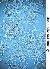 窓, 水晶, 霜, 自然, つらら