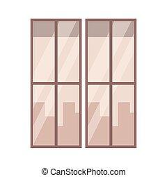 窓, 漫画, 光景