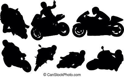 競争 オートバイ