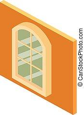 等大, 窓, アイコン, スタイル, 教会
