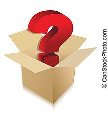 箱, 未知, 概念, 内容