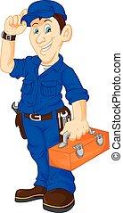 箱, 機械工, 保有物, 公益事業