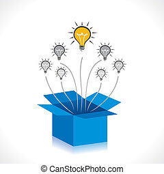 箱, 考え, ∥あるいは∥, 新しい, 考えなさい, から