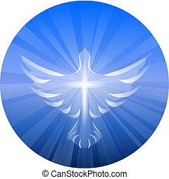 精神, 神, 神聖, 表すこと, 鳩