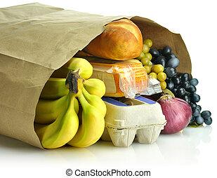 紙袋, 食料雑貨