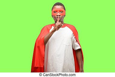 索引, 概念, 英雄, ありなさい, 唇, quiet., 秘密, 黒, 指, アフリカ, 尋ねなさい, 極度, 沈黙, 人